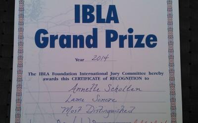 IBLA Grand Prize 2014