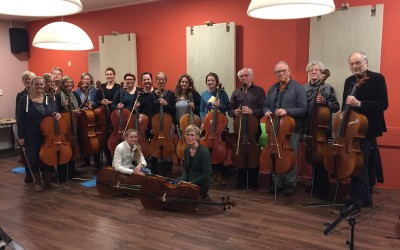 Cello Ensemble Avond