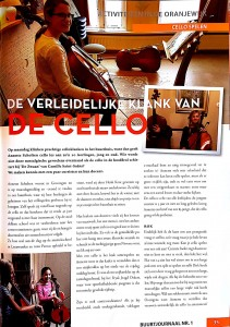 Cello-en ensemblelessen Leeuwarden