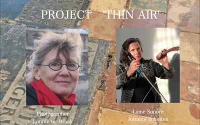 'Thin Air' by Calliope Tsoupaki. Lame Sonore:Annette Scholten & Photos: Lonnie ter Braak
