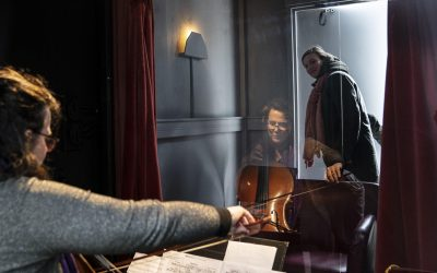 De Wijk De Wereld:  mini-Matthäus-Passion in Vinkhuizen Groningen